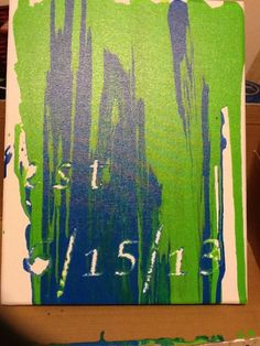 Southern Sweetpea Crafts: Unity Painting Like What She Did At The End Of  The Post