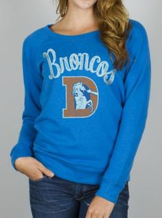 NFL Denver Broncos Field Goal Fleece w/ Embroidery - Women's Collections - NFL - All - Junk Food Clothing