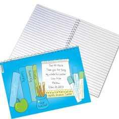 Gifts for Male Teachers - Personalised Books Teachers Notebook