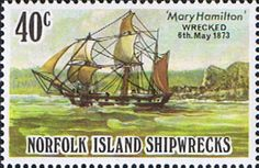 Norfolk Island 1982 Shipwrecks SG 290 Fine Mint Scott 296 Other European and British Commonwealth Stamps HERE!