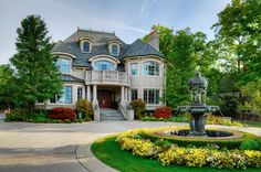 stone house with fountain 10 Things Nobody Tells You About Buying a Home