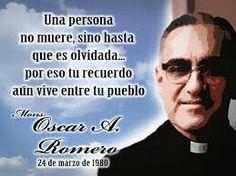 Monseñor Romero.