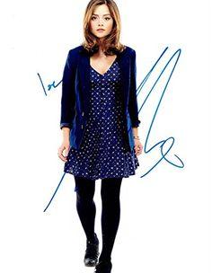 Doctor who series 7   wave one   Clara Oswald  blue Polka dress 3.75 Inch figure