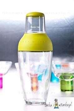 Shaker z miarką, zielony, MSC International