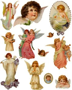 1000 Images About Vintage Angel On Pinterest Victorian