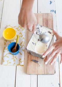 Lavender Ice Cream | Photo by YSP Lavender Ice Cream, Ice Cream Photos, Parfait, Stylists, Lemon, Lifestyle Photography, Food, Yellow, Essen