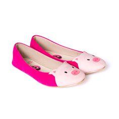 Piggy Melati: Pig-shaped Flat Shoes on Etsy This Little Piggy, Little Pigs, Tout Rose, Pig Crafts, Pot Belly Pigs, Pig Pen, Mini Pig, Cute Piggies, Christian Louboutin Heels