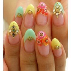Love this for spring and summer. A bit softer and more sophisticated than neons, though I'll still have a place in my polish rack for them.