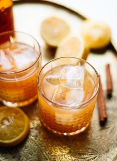 maple-sweetened whiskey sour