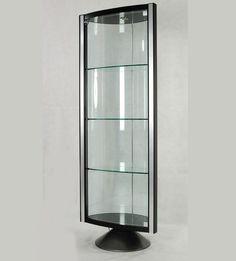 Merveilleux Glass Contemporary Curio Cabinets Ideas