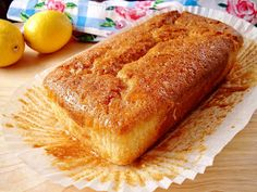 Gluten-Free and vegan lemon bread