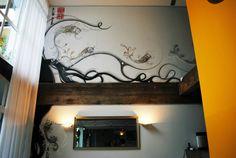 Mural em nanquim