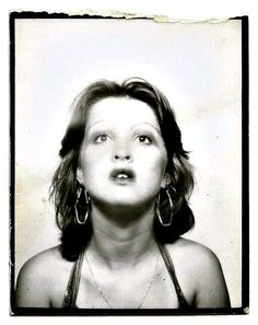"I was born Cynthia Ann Stephanie ""Cyndi"" Lauper on June *Singer/Songwriter/Activist Cindy Lauper 80s, Cyndi Lauper, Vintage Photo Booths, Vintage Photos, Young Celebrities, Celebs, Photo Cabine, Photos Booth, Yearbook Photos"