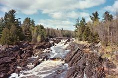 This hike along the St. Louis River at Jay Cooke State Park is unlike any other. The views are unbeatable and you can cut it as short as you need, as long as you make it over the swinging bridge, which is only a few yards from the parking lot! You can also take the West Ridge Trail or East Ridge Trail for short loops above the river.