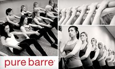 Pure Barre-- the best workout ever!