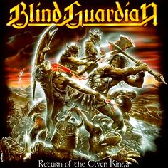 Blind Guardian Return of the Elven Kings album cover