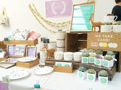 {ONR BIZ} Craft Fair Prep — OH NO Rachio!