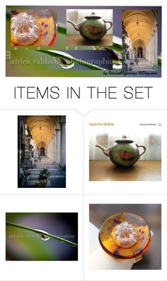 """""""No Tears at Tea Time"""" by rescuedofferings ❤ liked on Polyvore featuring art, photography, integrityTT, TintegrityT and EtsySpecialT"""