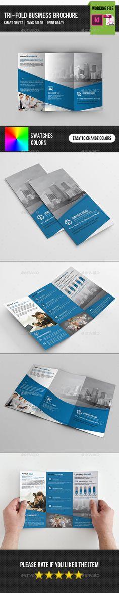 Corporate Trifold Brochure Template #brochure Download: http://graphicriver.net/item/corporate-trifold-brochurev235/11589638?ref=ksioks