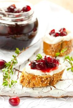 Recipe for Cranbbery Jam and Clotted Cream (Double Boiler Method) on http://www.theculinarylife.com