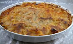 Lasagne (tej és tojásmentes)