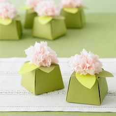 Martha Stewart favor boxes