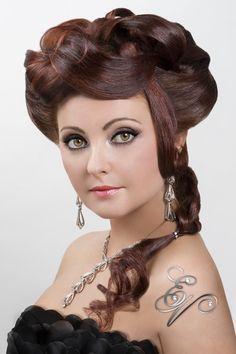 Hair Back View #UpDo Dream Catchers Salon LIKE us on www.facebook.com/DreamCatchersSalon and visit us at www.ellahairdesign.com  #hairstyle #wedding