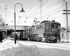 Pennsy P5a in the snow | Classic Trains Magazine
