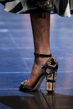 floraspice:  Dolce & Gabbana Spring/Summer 2016   MFW