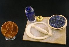 Miniature Blueberry Pie Board by Kathryn Depew