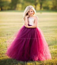 Wine Flower Girl Dress, Burgundy and Champagne Tutu Dress, Dark Red Wine Tulle Dress, Champagne Sequin Off the Shoulder Gown, Pageant Dress Flower Girls, Fall Flower Girl, Sequin Flower Girl Dress, Red Flower Girl Dresses, Girls Tutu Dresses, Flower Girl Tutu, Tutus For Girls, Pageant Dresses, Tulle Dress