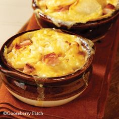 Gooseberry Patch Recipes: Scalloped Potatoes & Ham from 101 Homestyle Favorites