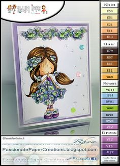 Passionate Paper Creations: Copic Marker Color Combo