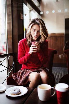 Coffee shop gal