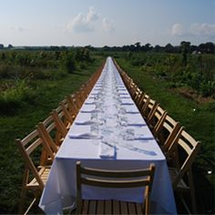 Outstanding In The Field - culinary events at farms and vineyards
