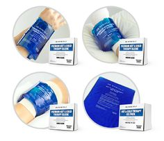 Hot & Cold Therapy Gel Pack and Therapy Sleeves are reusable, portable, and safe therapeutic solutions that provide fast and comfortable support for injuries. http://products.mercola.com/fitness/gel-packs/