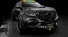 Aftermarket specialists Carlex Design have reworked the Mercedes-Benz X-Class truck, dubbing the mammoth creation the EXY Monster X concept. Mercedes 6x6, Mercedes Benz Trucks, Mercedes Benz Maybach, Benz Car, Big Trucks, Chevy Trucks, Pickup Trucks, Dually Trucks, Toyota Trucks