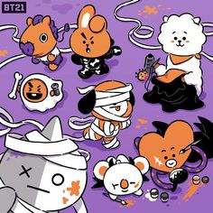 Image Result For Bt21 Coloring Pages V In 2018