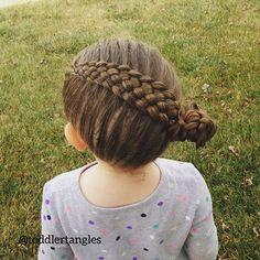 Top 100 toddler hairstyles photos A 7 strand braid into a bun today. It stayed in all day beautifully! #braidideas #braidsforlittlegirls #braidstyles #hairstyles #braidingmommies #hairofinstagram #hairgoals #hairoftheday #hairinspo #teenhairstyles #hairfashion #cutehair #kidsfashion #kidstyles #toddlerhairstyles #toddlerhairideas #toddlerhairstyle #lrbfeatureme #cghphotofeature #braidstagram...