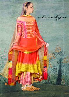 Niki Mahajan quirky sari display