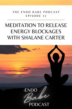Have you been wanting to add meditation into your healing tool kit? Repin and listen to this episode of the Endo Babe Podcast to hear energy healer Shalane Carter guide you through an energy releasing meditation #endometriosis #endometriosistips #endometriosisremedies #endometriosisawareness #endometriosispain #endometriosispainrelief #excisionsurgery #endometriosissurgery #endometriosisawareness #endowarrior #meditation #meditationforbeginners Endometriosis Surgery, Endometriosis Awareness, Meditation For Beginners, Guided Meditation, Virtual Assistant, Physical Therapy, Healer, Tool Kit, Self Love