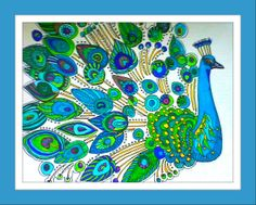of course a peacock..BY Lynda McGovern