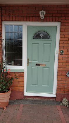 Front doors in Somerset
