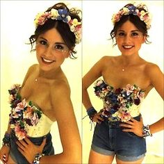 DIY Flower Bustier LOVE MUST MAKE EVERYTHING ON THIS BLOG! RAVE LOVE@fancymade