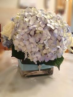 DIY baby shower centerpieces, the most simple/easy design that will save you big bucks when you DIY.bloomsbythebox,com Christening Centerpieces, Communion Centerpieces, Baby Shower Centerpieces, Flower Centerpieces, Wedding Centerpieces, Flower Arrangements, Wedding Favors, Budget Flowers, Simple Flowers
