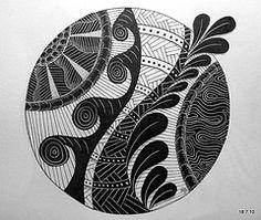 #tangle art,