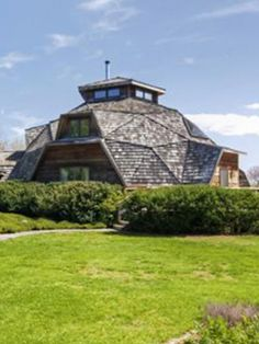 A large geodesic dome home of 3,300 sq ft  $695,000