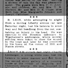 Houston Post 25 May 1908 pg 10 R Leon