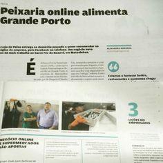 Loja do Peixe - Jornal de Negócios - A Loja do Peixe numa entrevista para o Jornal de Negócios.