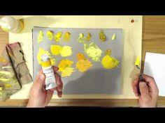 Yellow Oil Paint - YouTube